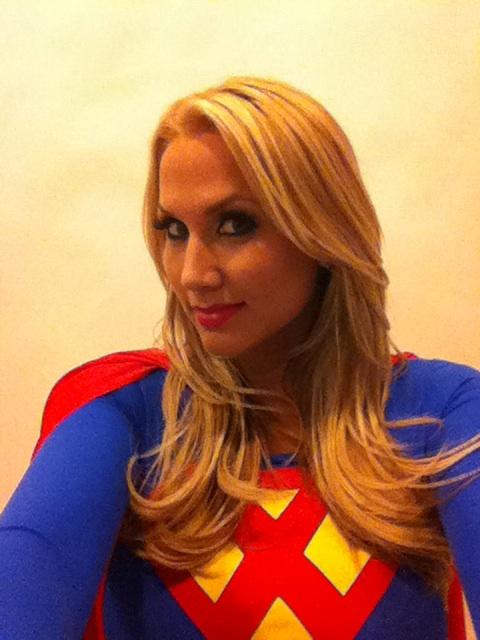 Alanah Rae as Supergirl